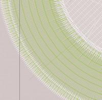 превью дизайна машинной вышивки лого BMW для кожзама 02-1