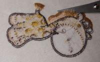 как подрезать нитки на гриве и хвосте, чтобы получить бахрому