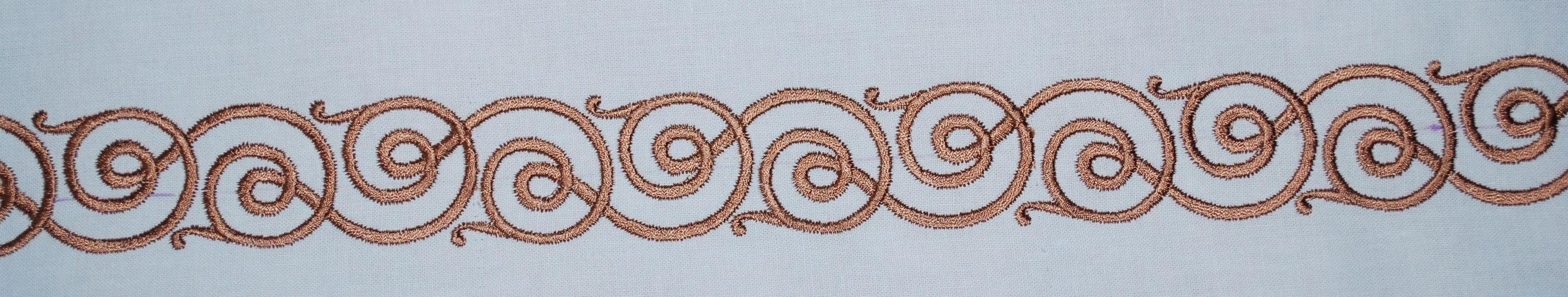 стыковка дизайна машинной вышивки на бытовой машинке 13
