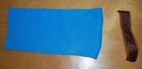урашенная машинной вышивкой резинка для волос 01