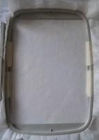машинная вышивка держателя для полотенца шаг 01