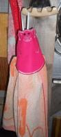 машинная вышивка держателя для полотенца шаг  18