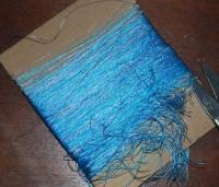 текстура с помощью резанных ниток 02