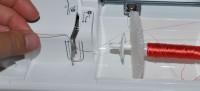 использование пенопласта и других подручных материалов для устранения скручивания нитки