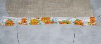 вышивка набивной игрушки кот на вышивальной машине 08