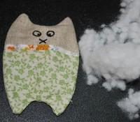 вышивка набивной игрушки кот на вышивальной машине 17