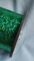 машинная вышивка плоской металлизированной ниткой 03
