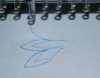 машинная вышивка нитками стягивающими ткань 02