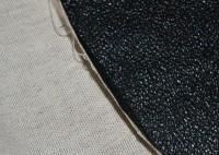 машинная вышивка на материале типа кирзы 01