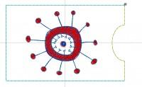 дизайн машинной вышивки чехола для кредитки 01