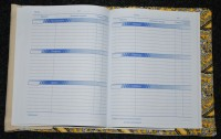обложка для школьного дневника вышитая 04