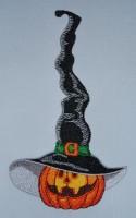 тыква в шляпе к хэлловину