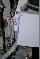 настройка приспособления для пришивания блесток на промышленную вышивальную машину 02