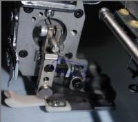 настройка приспособления для пришивания блесток на промышленную вышивальную машину 07