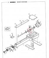 чертеж для сбоки челночного мехнизма вышивальной машины веллес