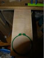 запялочное устройство для промыленной вышивальной машины  10