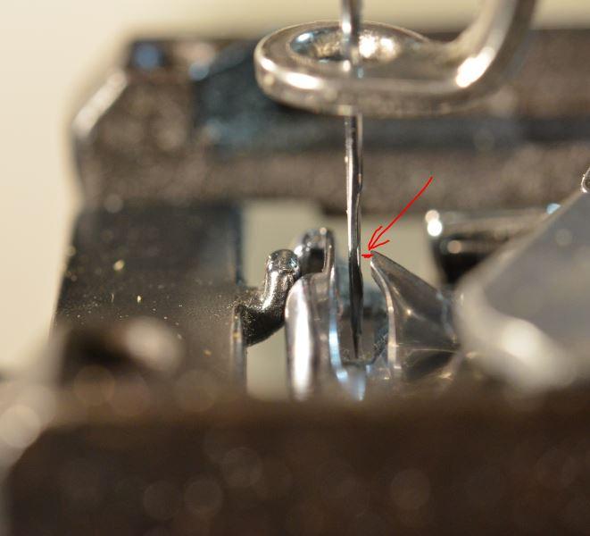 зазор между иглой и челноком вышивальная машина веллес
