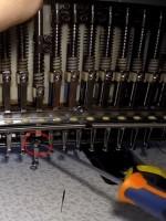 смена сломанной иглы на игловодителе веллес 06