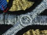 пропуск стежков при вышивке на веллес